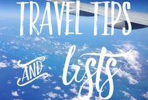 Wanderlust: Travel Tips & Lists / Travel tips/hacks such as packing, budgeting and flight hacks, along with lists of the best travel locations!