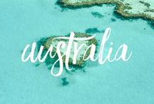 Wanderlust: Australia / Australia travel advice and inspiration! Snorkelling the Great Barrier Reef near Cairns, Sky diving in Brisbane, learning to surf at Gold Coast, exploring Melbourne, learning to dive in Sydney, Perth, Alice Springs, Adelaide... everything AUSTRALIA!