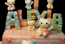 CAKES HELLO KITTY / by Soyarroz Productos Light