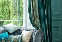 Curtains/shades / Create drama, elegance and warmth / by Sarah McVaugh