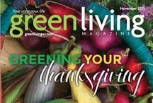 Green Living Magazine / Publications that used my Images as contributing photographer. Michael P. Moriarty