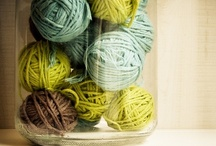 wool and pins / by Jeannie
