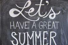 Seasons:Summer Fun! / Summer DIY decor, party, food & DIY craft & activity ideas