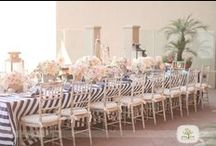 Wedding Style:Blue to Purple / DIY navy, blue, aquamarine, turquoise & purple wedding decor, flower & food ideas