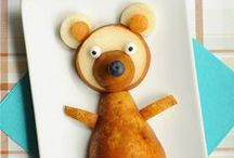 Kid Food & Fun / Fun food, games and cratf ideas for kids  / by the BearFoot Baker (Lisa)