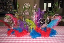 Party On! Dr. Seuss / DIY Dr. Seuss party decor, food , craft & favor ideas