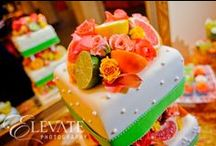 Wedding Style:Eat Cake! / Let them eat cake! Wedding cake ideas for color, design, display