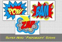 Party On! Super Hero / Planning a Super Hero Party? Check out these ideas.