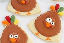 Thanksgiving Cookies / Thanksgiving Day Cookies
