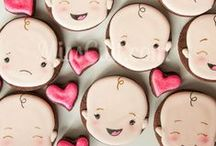 Cookies for Baby / Decorated Sugar Cookies for Babies