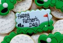 Father's Day Cookies / Cookies for Dear Old Dad