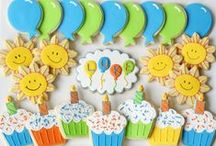 Birthday Cookies / Cookies to Celebrate your Special Day