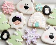 Cookies for Winter / Cookies you find with it is frosty outside