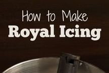 Royal Icing / Everything you need to know about royal icing for decorating cookies / by the BearFoot Baker (Lisa)