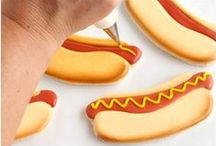 BBQ Cookies / Decorated Cookies that you would take on a BBQ