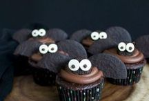 Halloween Cupcakes / Celebrate Halloween with these Cute and Spooky Halloween Cupcakes.
