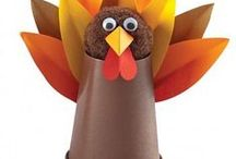 Thanksgiving Crafts for Kids / Crafts and Treats kids can make for Thanksgiving Fun