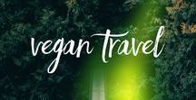 Vegan Travel / Travelling as a vegan is hard. Here are some tips.