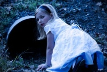 """down the rabbit hole / """"if i had a world of my own, everything would be nonsense. nothing would be what it is, because everything would be what it isn't. and contrary wise, what is, it wouldn't be. and what it wouldn't be, it would. you see?""""  -'alice's adventures in wonderland'"""
