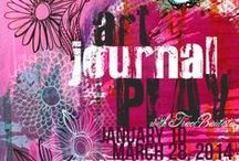 treiCdesigns DIGITALS + FREE printables / digital art journlaing. mixed media. FREE printables from me! :)