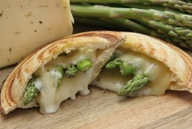 Grilled Cheese Toas-Tites / April is National Grilled Cheese Month!  We're celebrating today with a Grilled Havarti & Asparagus Toas-Tite.  With asparagus in-season, it's the perfect time to try this Toas-Tite creation... and a serving of veggies is always a good thing.