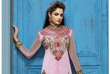 Designer Salwar Kameez / We are presenting absolutely amazing collection of designer suits material to make you look perfect for your special day. These suits specially designed for women, who like to look very different and modern