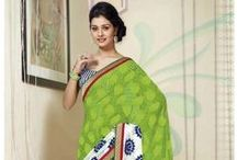 Casual Printed Sarees / Bharatplaza is bringing a Bold and Trendy casual collection for your day wear. Our designer print fabric make use of high quality yarn to craft a collection that is sure to create a demand in the market. These are perfect for women of today who love to experiment and adapt latest fashion