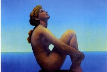 art: maxfield parrish / 1870-1966 - american - neo-classical / by Megan Holdaway