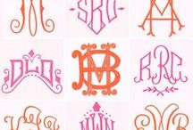 Mad for Monograms / by Toss Designs