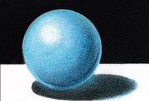 COLORED PENCIL blending / prismacolors / by Art Ed Central