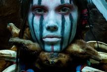 TRIBALLLL / Tribes, Pióropusz, Tribal Print, Tribal looks, Plemiona