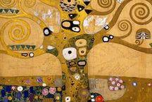 KLIMT inspires us / Gustov tree of life  / by Art Ed Central
