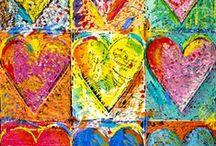 JIM DINE  inspires us / valentine's....art / by Art Ed Central