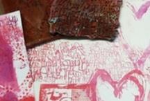 graffiti GLAM art stamps by traci bautista
