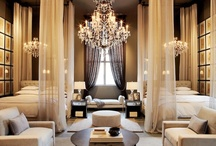 Lavish interiors / Luxurious, elegant, dainty, sumptuous, extraordinary and very expensive interiors