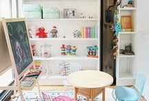 Basement Inspiration / Inspiration for playroom in our walk out basement.