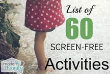 Activities for 4-5 year olds