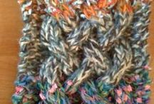 Knit one ... purl one / Knitting is a bit like meditation; it's calming, slows the heart rate, breathing, as well as brain waves - a great stress buster and you're making something beautiful and useful at the same time.