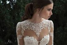 Wedding Dress Inspiration / Eclectic Styles of Wedding Dresses