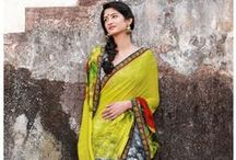 Latest Sarees Collection / Buy latest designer sarees collection online at www.bharatplaza.com