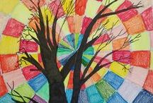 Color theory unit ideas / grade 6,7 ang 8 Lowell Middle School   T. Wooley / by Art Ed Central