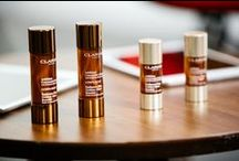 Clarins Golden Glow / Give yourself that golden glow boost anytime of the year. 24/7 summer for your skin.