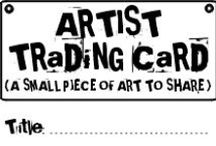 Artist trading cards / ATC  artist trading card ideas / by Art Ed Central