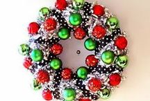 Christmas Wreaths / I am a self-proclaimed Christmas Décor Whore!!!!!!!!!!!!!!!1 / by Kim Murphy