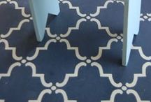 Painted Floors / LOVE THIS!