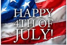 4th of July / Ideas for the 4th, Decorations, Fireworks, Crafts I love!