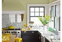 Dream Kitchens / We love to cook and we'd just LOVE to cook in one of these gorgeous dream kitchens! Inspiration and ideas for the kitchen you've (and we've) always wanted.  / by Cherryvale Farms