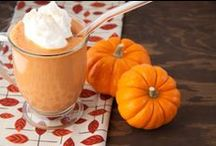 """""""Fall-ing"""" In Love / Get it? We're fall-ing in love with Fall! Break out the cozy sweaters, pumpkin spice everything and warm mugs of hot chocolate, because we've got some delicious Fall inspired treat ideas for you. / by Cherryvale Farms"""
