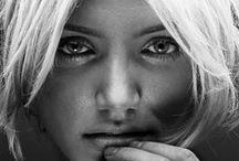 Celebrities in Black and White