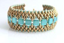 beading ~ superduos, tilas & O beads